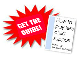 Get the Guide How to Pay Less Child Support